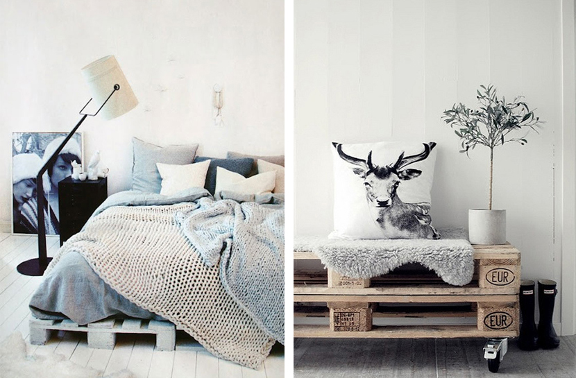 Houten Paletten Bed : Pallet archives