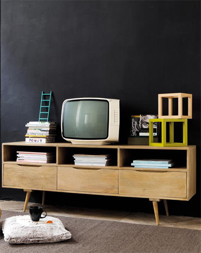 een televisie integreren in je interieur. Black Bedroom Furniture Sets. Home Design Ideas