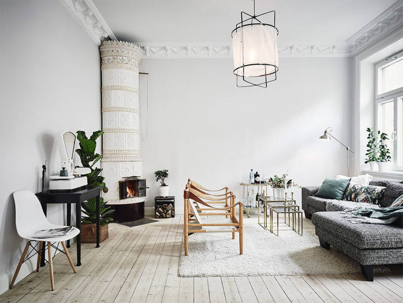 Chic Scandinavisch interieur2