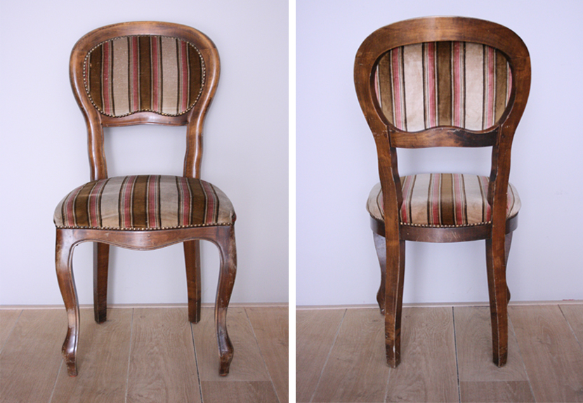 Zeer DIY: Brocante stoel opknappen - Stripesandwalls.nl &LN71