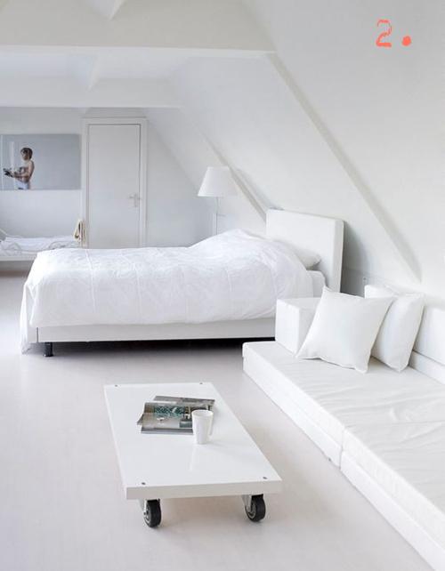Uitgelezene 10x witte slaapkamers - Stripesandwalls.nlStripesandwalls.nl LS-97